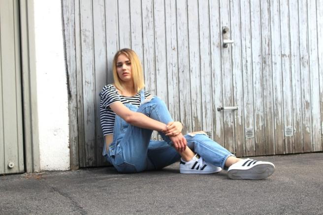 fashionblogger münchen latzhose 3
