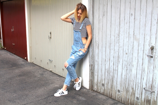 fashionblogger münchen latzhose 4