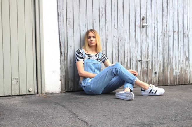 fashionblogger münchen latzhose 5