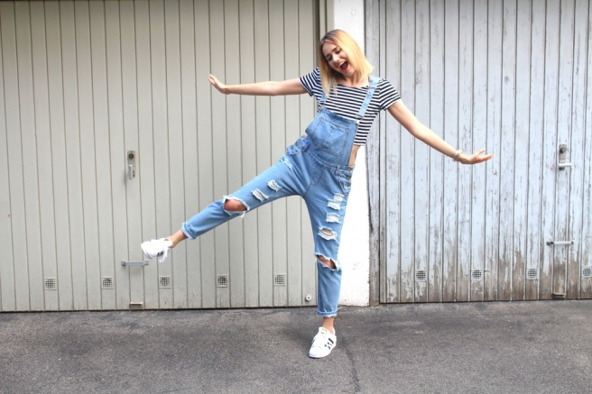 fashionblogger münchen latzhose 8