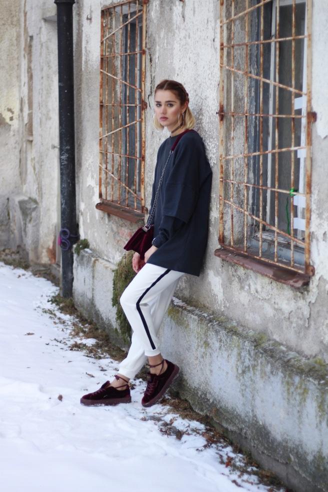 Fashionblog Munich, deutsche Blogger, Modeblog München, Joggingpants outfit puma creepers fenty by rihanna