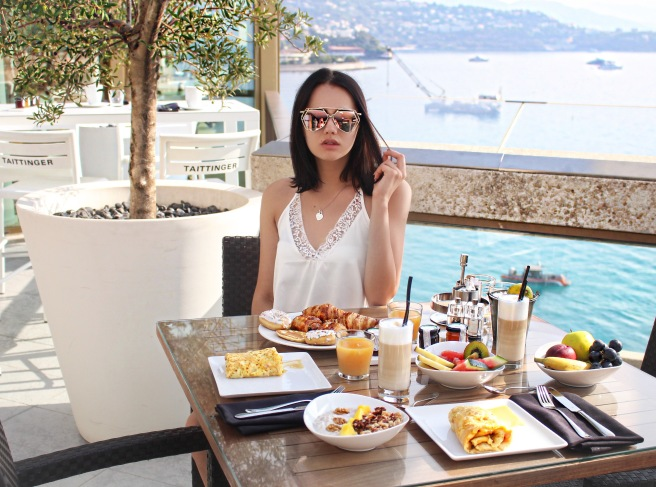 Monte Carlo Monaco Nikki Beach Club Bikini Blogger